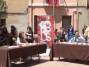 Entrevistada per TV del Vallès Oriental i Radio Silenci de La Garriga durant les festes del Corpus 2013 a La Garriga